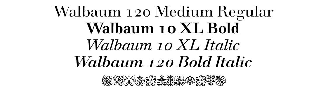 Walbaum 2010 Pro
