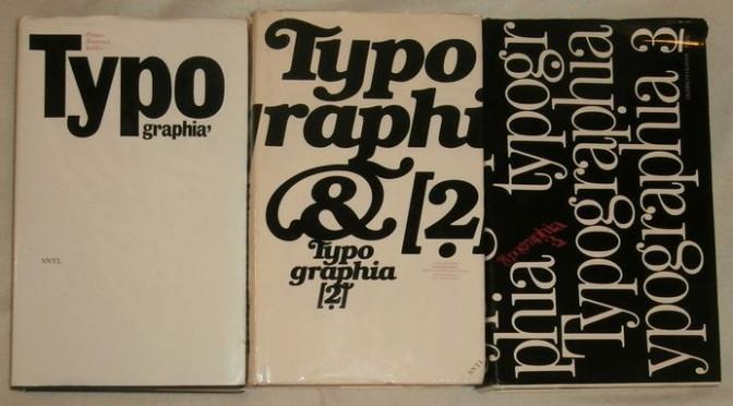 Knihy o typografii, slovníky, …